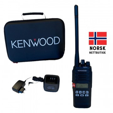 Kenwood NX-1200DE2 VHF ANALOG / DIGITAL JAKTRADIOPAKKE