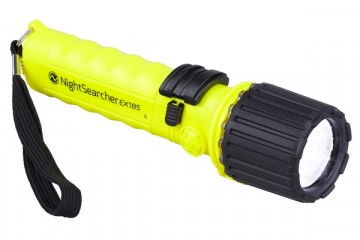 NIGHTSEARCHER FLASHLIGHT ATEX EX185 4-AA PLAIN PACKAGING