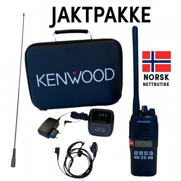 Kenwood NX-1200DE2 VHF ANALOG / DIGITAL JAKTRADIO SUPERPAKKE