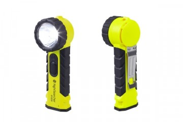 NIGHTSEARCHER FLASHLIGHT ATEX RIGHT ANGLE EX325 4-AA
