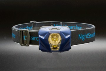 NIGHTSEARCHER HEAD TORCH 330LM - LITHIUM USB